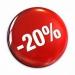 Sleva 20% a více