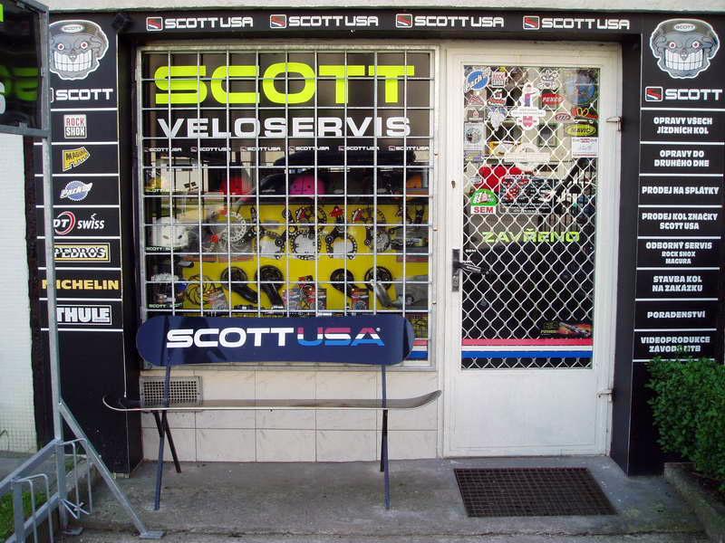 0e38f63da2d Devátého ledna 2004 pak se k našemu krámku SCOTT Veloservis přidaly i  internetové stránky pod doménou www.scottmtb.cz .Nejprve jsem na ně  datloval zprávičky ...