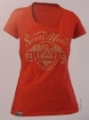 TEE WS MOTO coral red