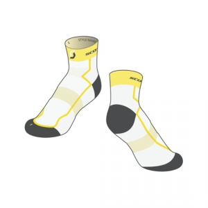 SCOTT SOCKS RC LIGHT white/yellow