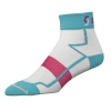 SCOTT WŚ SOCKS RC LIGHT white/ocean blue