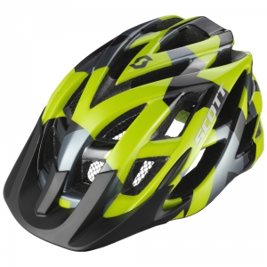 SCOTT SPUNTO HELMET lime green camo