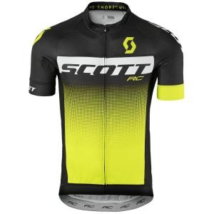 SHIRT RC PRO S/SL black/sulphur yellow
