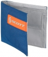 WALLET SCOTT SMALL blue/orange