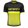 RC TEAM 20 S/SL SHIRT black/sulphur yellow