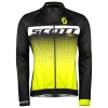 RC AS JACKET black/sulphur yellow