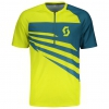 TRAIL 10 S/SL SHIRT sulphur yellow
