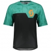 TRAIL 20 S/SL SHIRT black/pool green