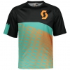 TRAIL 30 S/SL SHIRT black/pool green
