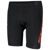 RC PRO JUNIOR SHORTS black/tangerine orange