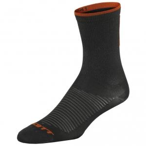 ROAD LONG SOCKS  black/tangerine orange