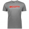 10 HERITAGE S/SL TEE dark heather grey