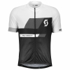 RC TEAM 10 S/SL SHIRT white/black