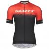 SHIRT RC PRO S/SL SCOTT fiery red/black