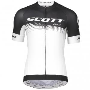 SHIRT RC PRO S/SL SCOTT black/white