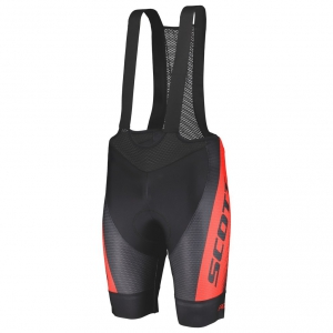 BIBSHORTS RC PRO +++ black/fierry red