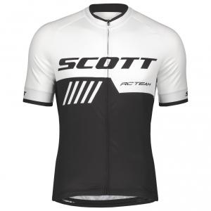 SHIRT RC TEAM 10 S/SL SCOTT white/black