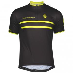 SHIRT RC TEAM 20 S/SL SCOTT black/sulphur yellow