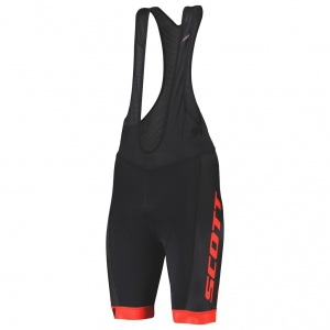 BIBSHORTS RC TEAM ++ SCOTT black/fierry red