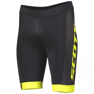 SHORTS RC TEAM ++ SCOTT black/sulphur yellow