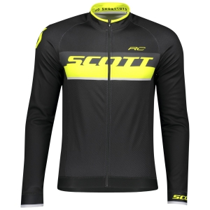 SHIRT RC AS L/SL SCOTT black/sulphur yellow
