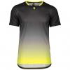 SHIRT TRAIL TECH S/SL black/sulphur yellow