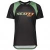 SHIRT TRAIL VERTIC S/SL black/dark ivy green
