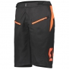 SHORTS TRAIL VERTIC + black/exotic orange