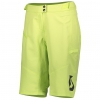 SHORTS TRAIL VERTIC WOMENŚ + sharp green