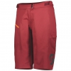 SHORTS TRAIL VERTIC WOMENŚ + merlot red