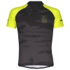 SHIRT RC TEAM S/SL JUNIOR black/sulphur yellow