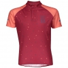 SHIRT RC TEAM S/SL JUNIOR merlot red/camellia pink
