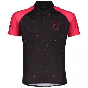 SHIRT RC TEAM S/SL JUNIOR black/azalea pink