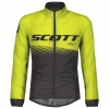 JACKET RC WB JUNIOR black/sulphur yellow