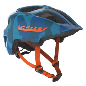 HELMET SPUNTO JUNIOR blue/orange