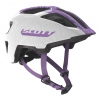 HELMET SPUNTO JUNIOR  white/purple