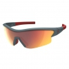 LEAP SUNGL blue/red red chrome