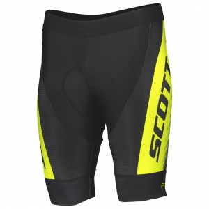 SHORTS RC PRO +++ black/sulphur yellow
