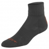 SOCKS TRAIL black/tangerine orange