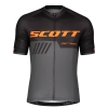 SHIRT RC TEAM 10 S/SL SCOTT black/exotic orange