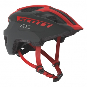 HELMET SPUNTO JUNIOR grey/red RC