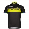 SHIRT RC JR PRO s/sl black/sulphur yellow Nino