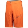 SHORTS ENDURANCE LS/FIT W/PAD MENŚ orange pumpkin