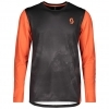 SHIRT MŚ TRAIL STORM L/SL black/orange pumpkin