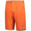 SHORTS TRAIL MTN MENŚ orange pumpkin