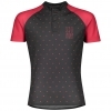 SHIRT JUNIOR RC TEAM S/SL dark grey/lollipop pink
