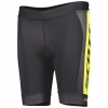 SHORTS JUNIOR RC PRO black/sulphur yellow