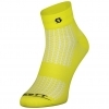 SOCKS PERFORMANCE QUARTER sulphur yellow/black