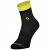 SOCKS TRAIL QUARTER dark grey/sulphur yellow