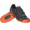 SHOE MTB ELITE BOA matt black/neon orange